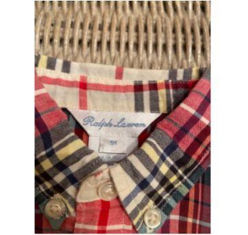 Camisa Xaderz Ralph Lauren - 9 meses - Ralph Lauren