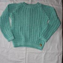 Tricot verde agua - 4 anos - Sambalele