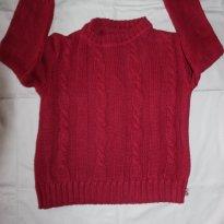 Tricot rosa - 4 anos - Sambalele