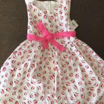 Vestido borboletas - 4 anos - OshKosh