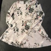 Vestido veludo - 6 anos - Zara