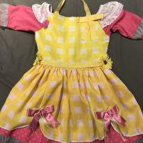 Vestido Caipira - 6 anos - Fantasias  Sulamericana