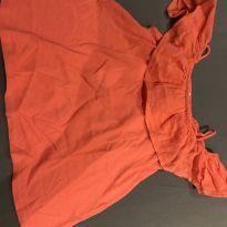 Ombro a ombro laranja - 4 anos - Zara