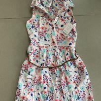Vestido florido - 6 anos - Carter`s