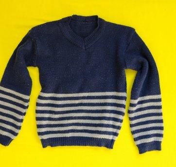 Suéter Masculino de tricô com gola