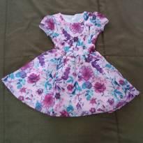 Vestido de festa florido - 5 anos - Carinhoso