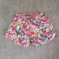 Shorts florido - 5 anos - Não informada