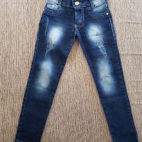 Calça jeans tamanho 6 - 6 anos - Não informada