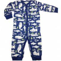 Pijama macacão Carters Tam 06 meses - 6 meses - Carters - Sem etiqueta