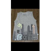 Camiseta Regata - 6 anos - Alphabeto