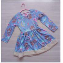 Vestidinho de princesa - 2 anos - Serelepe