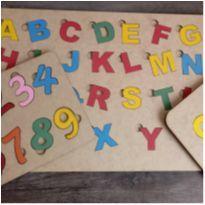 kit tabuleiro educativo mdf -  - MDF e Educativo