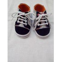 Lindo tênis em tecido  TEX   TAM 15 - 15 - Tex