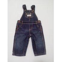 Jardineira jeans OshKosh B`gosh   TAM  6 meses - 6 meses - OshKosh