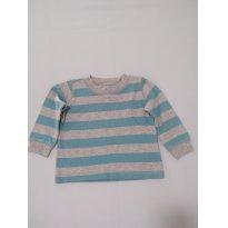 Blusa moleton manga longa TAM 9 meses - 9 meses - Carter`s