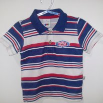 Camisa Polo - 9 a 12 meses - PUC