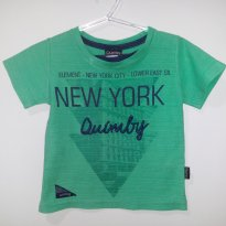Camiseta verde - 1 ano - Quimby