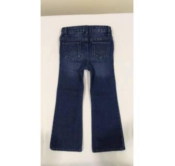 Calça jeans com regulagem na cintura - 4 anos - Baby Gap