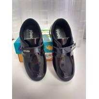 Calçado social preto verniz - 25 - Pimpolho