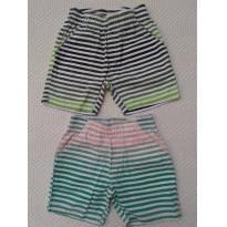 Shorts listrados - 2 anos - Kyly