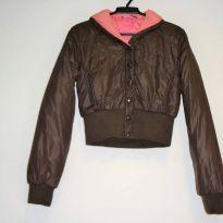 Jaqueta Bomber Cropped - 14 anos - Hooch