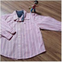 CAMISA SOCIAL TOMMY 12M - 1 ano - Tommy Hilfiger