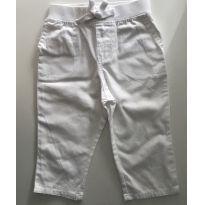 Calça branca de sarja Ralph Lauren - 1 ano - Ralph Lauren