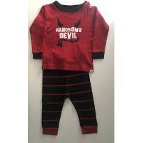 Pijama Baby Gap - 9 a 12 meses - Baby Gap