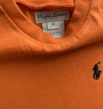 Camisa Ralph Lauren - 9 meses - Ralph Lauren