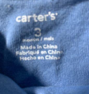 Body carter's - 3 meses - Carter`s