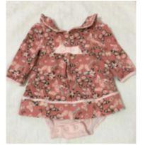 vestido body de borboletas - 3 a 6 meses - Teddy Boom e Renner