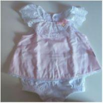 macaquinho vestido keko baby - 3 a 6 meses - Keko Baby