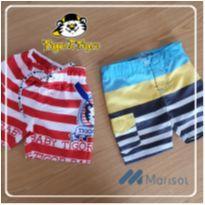 Shorts 3-6 meses Tigor + Shorts 3-6 meses Marisol - 3 a 6 meses - Tigor Baby