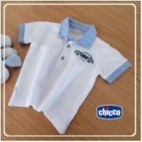 Camiseta Polo Speed 1 Chicco  9 meses - 6 meses - Chicco