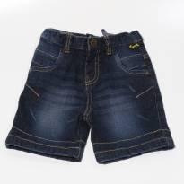 Bermuda  jeans Tigor T. Tigre - 18 a 24 meses - Tigor T.  Tigre