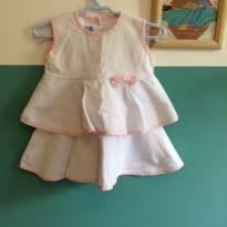 Vestido DTonetti - 9 a 12 meses - Outra