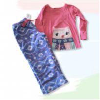 Pijama corujinha - 3 anos - Carter`s