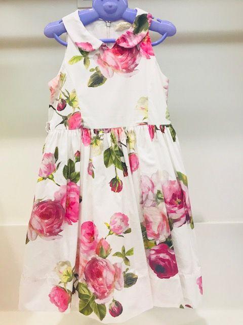 c86b478540 Vestido infantil de festa Monnalisa 6 anos no Ficou Pequeno ...