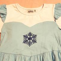 Camisola Frozen tamanho 8 - 8 anos - Fábrica de Sonhos