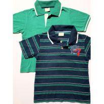 Camisetas Polo kit com 2 peças tamanho 3 anos - 3 anos - Milon