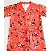 Roupão Homem Aranha Atoalhado tamanho GG (8-10 anos) - 10 anos - Renner