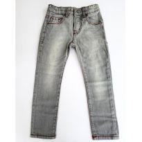 Calça Jeans Zara Cor Cinza para menino tamanho 3-4 anos - 4 anos - Zara