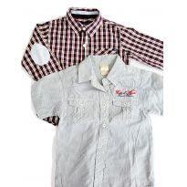 Camisas para Meninos Kit com 2 peças tamanho 3 anos - 3 anos - Milon e Mimo