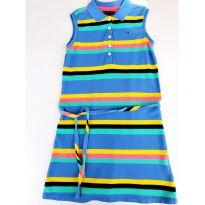 Vestido Polo em Malha Tommy Hilfiger tamanho 6-7 anos - 7 anos - Tommy Hilfiger