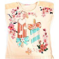 Camiseta Momi tamanho 8 - 8 anos - Momi