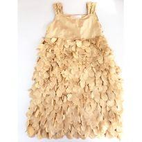 Vestido de Festa Pituchinhu´s Pétalas Tamanho 10 - 10 anos - Pituchinhus