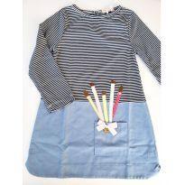Vestido Infantil Mon Sucre tamanhos 2 NOVO COM ETIQUETA - 2 anos - Mon Sucré