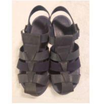 Sandália infantil azul marinho Klin