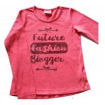 blusa infantil manga longa - 8 anos - Duduka