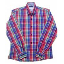 Camisa Infantil Importada Xadrez - 12 anos - Não informada